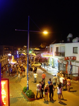 Ayia Napa at night