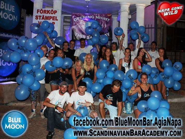 Blue moon bar Ayia Napa