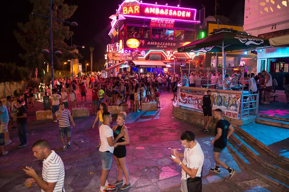 Image result for ayia napa square nightlife