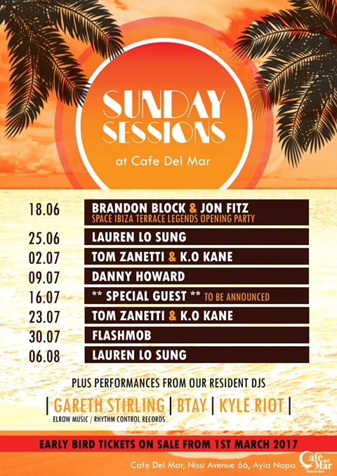 Sunday Sessions Ayia Napa