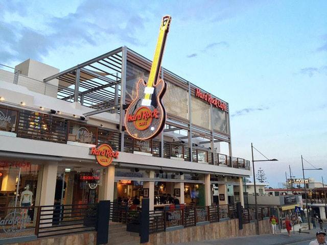 Hard Rock Cafe Menu Ayia Napa