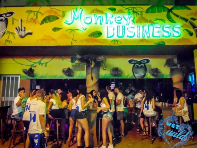 Monkey Business Dance Bar in Ayia Napa