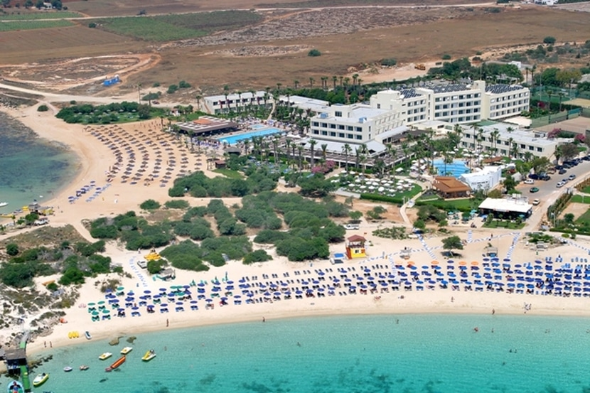 Dome Beach Hotel Ayia Napa Luzury beachfront resort at Macronissos