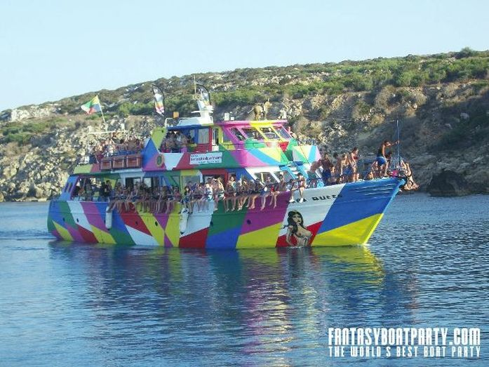 Fantasy Boat Party ayia napa