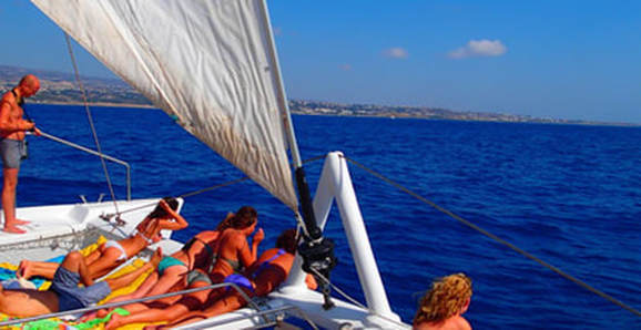 Adults Only Catamaran cruise from Ayia Napa