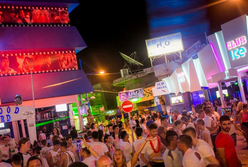Ayia Napa night life