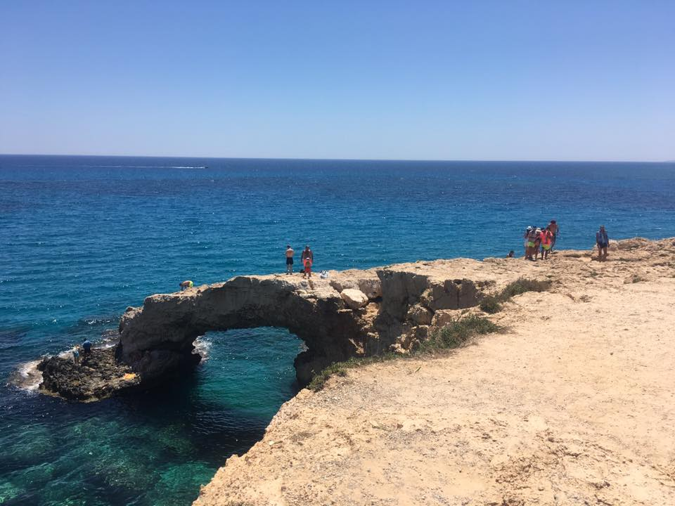 Ayia Napa sea caves tour