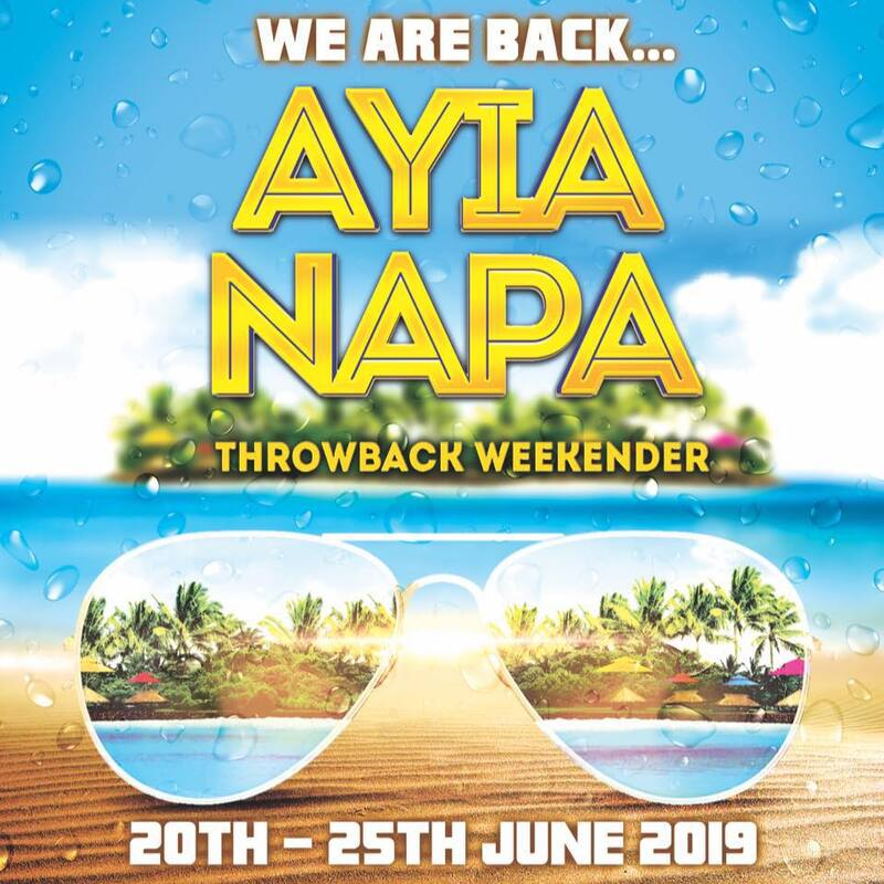 Book Ayia Napa Throwback weekender