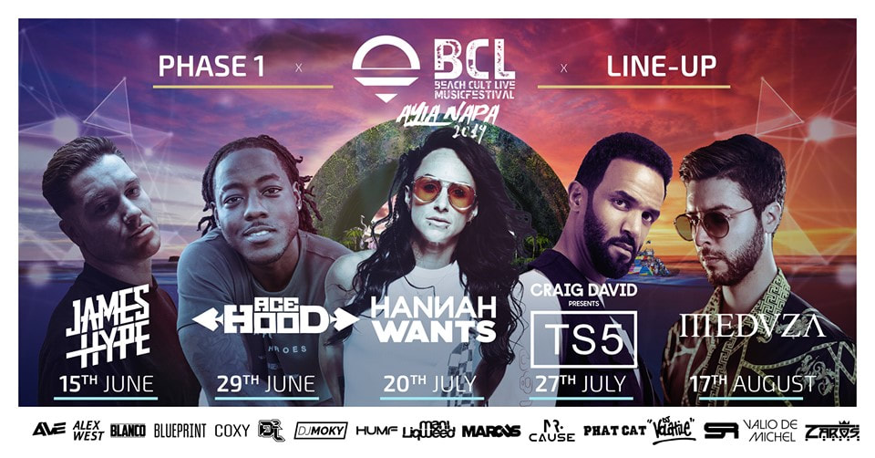 Book BCL Live tickets Ayia Napa