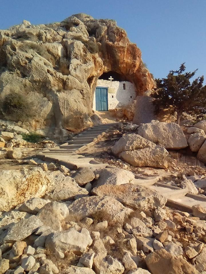 Cave Church ayia napa cape greco tour