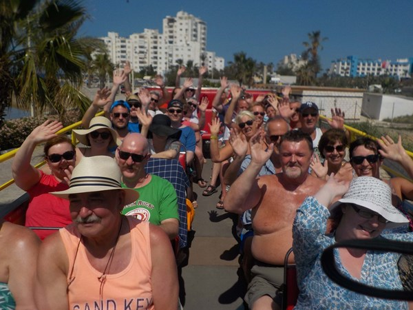 rED BUS OPEN TOP TOUR FROM AYIA NAPA