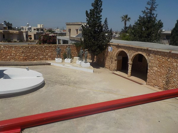 Open Top Red Bus Divided Line villages tour from Ayia Napa