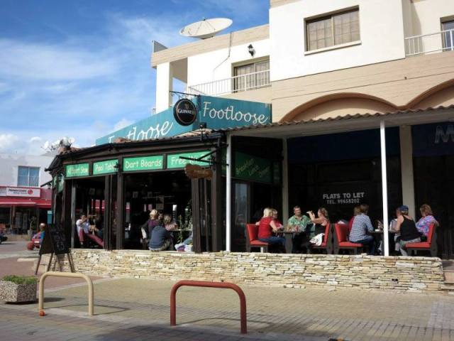 Footloose Bar Ayia Napa