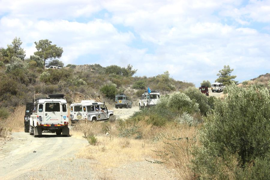 Jeep Safari excursions Cyprus