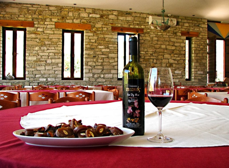 Cyprus food and wine tour from ayia napa