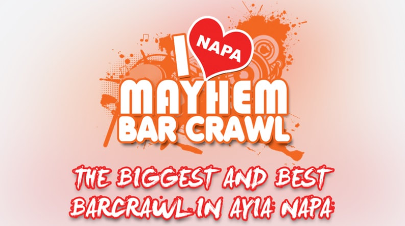 Mayhem Bar Crawl Ayia Napa