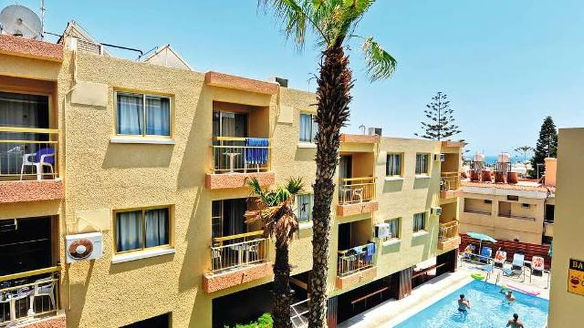 Barbara Hotel apartments Ayia Napa