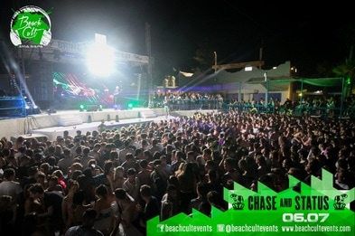 Beach Cult events Ayia Napa