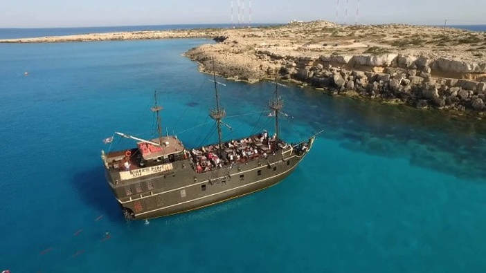 Black Pearl Pirate boat trip Ayia Napa