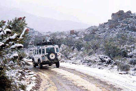 Cyprus winter jeep tour
