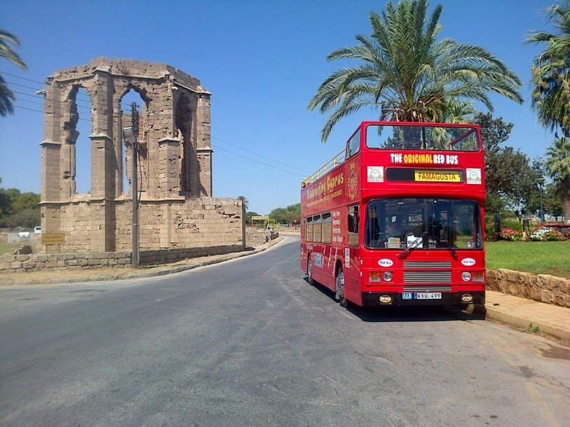 Red Bus Famagusta Tour from Ayia Napa