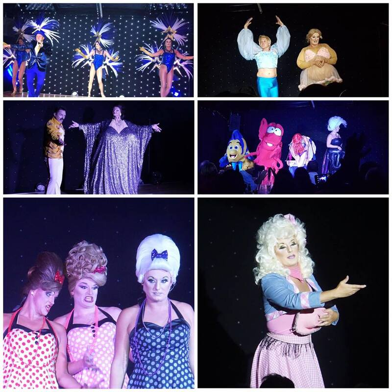 Stardust variety comedy drag show Ayia Napa