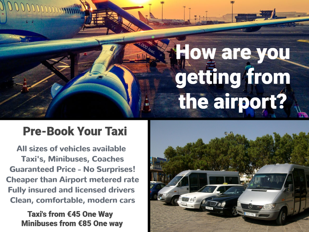 Ayia Napa taxi booking